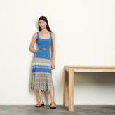 SandroSandro Pointelle skirt with chevron stripes
