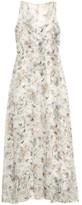 ADAM by Adam Lippes Cuban floral print silk-chiffon gown
