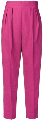 Theory high waisted trousers