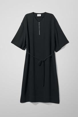 Weekday Lorilei T-Shirt Dress - Black