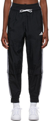 adidas Black Comfortable Woven Track Pants