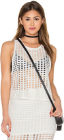 KENDALL + KYLIE Laser Cut Out Tank