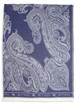 Etro Paisley Print Throw
