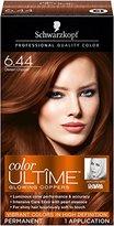 Schwarzkopf Ultime Hair Color Cream, 6.44 Desert Copper