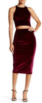 Rachel Pally Nori Velvet Pencil Skirt
