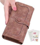 Donalworld Women PU Leather Tassel Purse Flap Wallet Lady Clutch