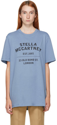 Stella McCartney Blue Est. 2001 Logo T-Shirt