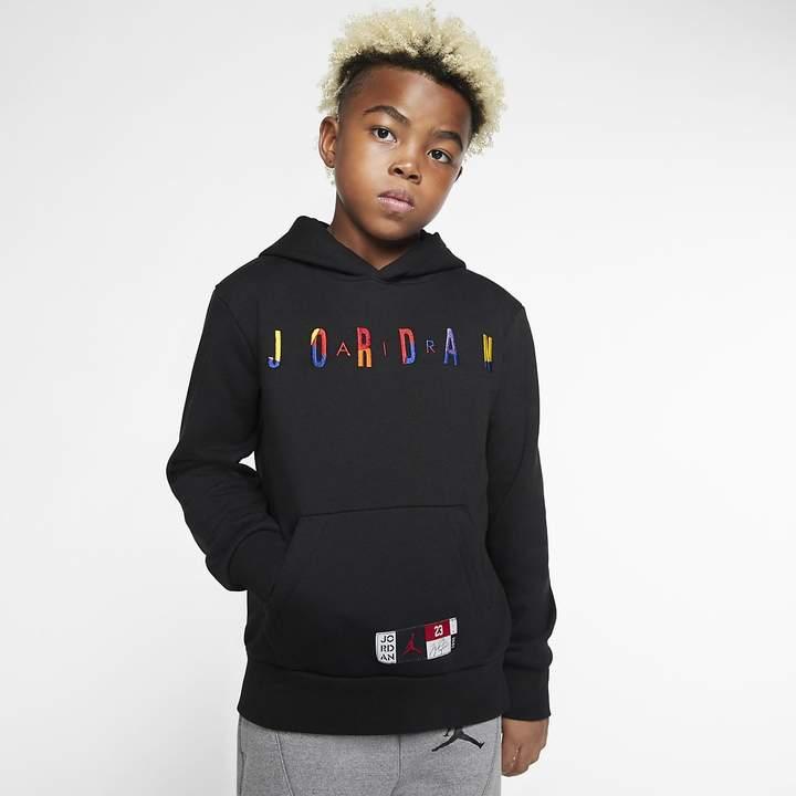 Kids'boys'Fleece Air Jordan Big Pullover Hoodie QBdeCrxoW