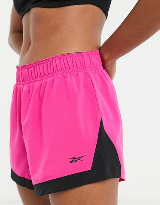 Reebok Training shorts in pink
