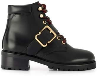 Sandro Paris buckle-detail ankle boots
