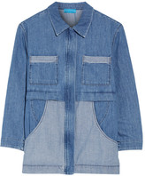 MiH Jeans Painters Chambray Jacket - Mid denim
