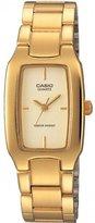 Casio #LTP1165N-9C Womens Metal Fashion Gold Tone Casual Analog Watch