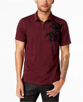 INC International Concepts Men's Embroidered Snap-Closure Polo, Created for Macy's