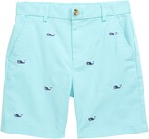 Vineyard Vines Breaker Whale Embroidered Shorts