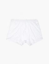 Comme des Garcons CDG Shirt x Sunspel White Cotton Trunks