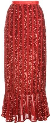 Saloni Aidan sequinned skirt