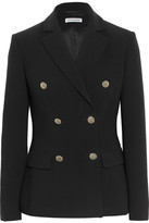 Altuzarra Indiana Double-breasted Crepe Blazer - Black