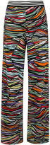 Missoni knitted wide-leg trousers