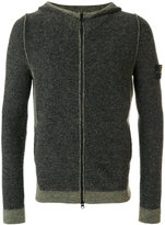 Stone Island zip hoodie - men - Acrylic/Polyamide/Spandex/Elastane/Alpaca - L