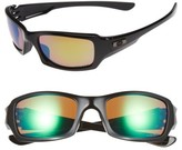 Oakley Men's Fives Squared H2O 54Mm Polarized Sunglasses - Black