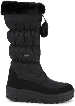 Pajar Tegan Faux Fur Quited Snow Boots