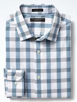 Banana Republic Camden Standard-Fit Non-Iron Grid Shirt