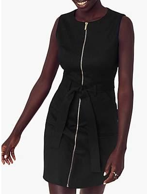 Oasis Cotton Blend Utility Shift Dress