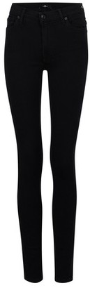 7 For All Mankind The Skinny Jeans high waist