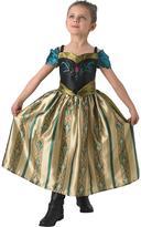 Disney Frozen Disney Frozen - Coronation Anna - Child Costume with free book
