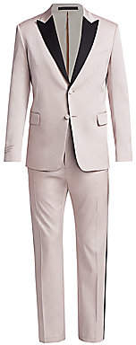 Valentino Men's Regular-Fit Two-Button Satin Lapel Evening Suit