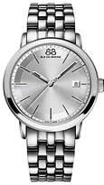 88 Rue du Rhone 87WA130016 Men's Double 8 Origin Bracelet Strap Watch, Silver