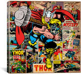 iCanvas Marvel Comics Book Thor Covers and Panels Graphic Art on Wrapped Canvas