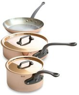 Mauviel 5-pc. M'Heritage Cookware Set with Cast Iron Handles