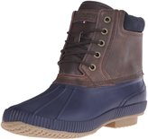 Tommy Hilfiger Men's Charlie Snow Boot, Navy, 10 M US