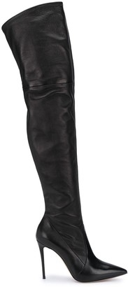 Casadei Over-The-Knee Stiletto Boots