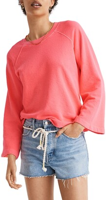 Madewell Terry Raglan Sweatshirt