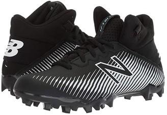 New Balance Freeze 2.0 Lacrosse (Little Kid/Big Kid) (Black/White) Kids Shoes