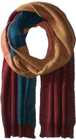 BCBGMAXAZRIA Brushed Color Block Scarf