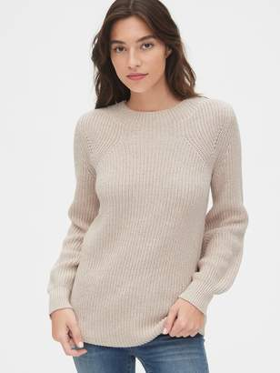 Gap Shaker Stitch Crewneck Sweater