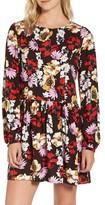 Hinge Women's Pintuck Minidress
