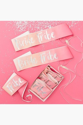 boohoo Bride Tribe Sashes 6 Pack