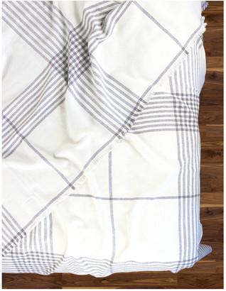 Melange Home Nine Bar Wool-Blend Blanket