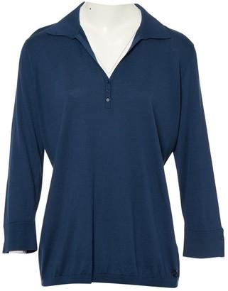 Loro Piana Blue Silk Knitwear for Women
