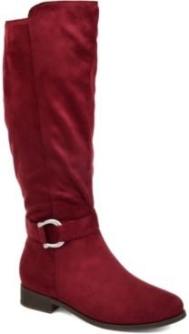 Journee Collection Women's Comfort Cate Wide Calf Boot Women's Shoes