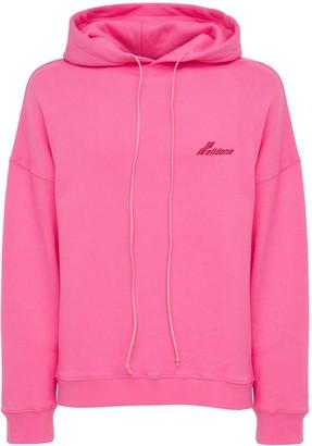 we11done Logo Jersey Sweatshirt Hoodie