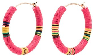 ALLTHEMUST Beaded Hoop Earrings
