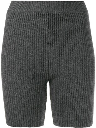 Cashmere In Love Mira knitted biker shorts