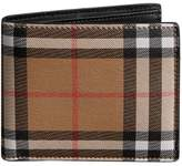 Burberry Vintage Check Leather Id Wallet