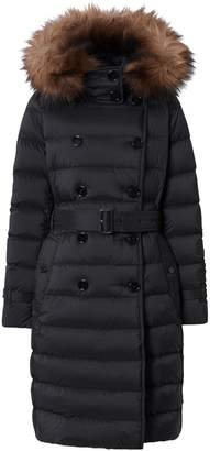 Burberry Belted Down Jacket