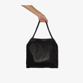 Stella McCartney Black Falabella Small faux leather tote bag